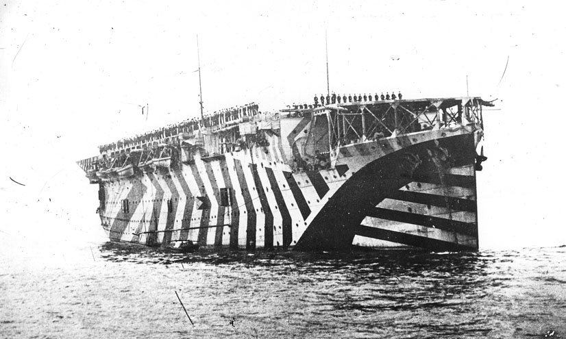 Perspective: Dazzle Camouflage
