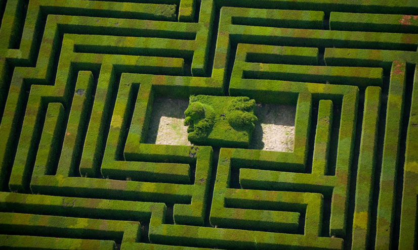 Networks: Labyrinths and Mazes